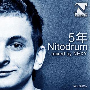 [15] Nito 001Mix - Various Mixed by NEXY – 5年Nitodrum Mixed (Digital) 2011