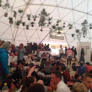 DF Tram @ Glastonbury 2014 in the Heaven Dome