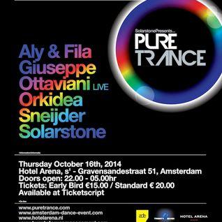 Orkidea - Live @ Pure Trance ADE 2014 (Hotel Arena, Amsterdam) - 16.10.2014