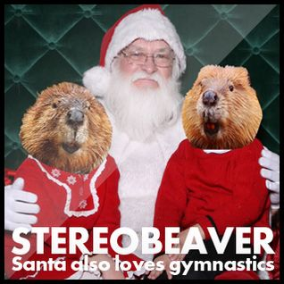 Santa also loves gymnastics mix