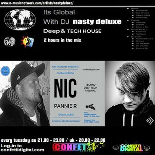 Global Session - Nasty deluxe - Nic Pannier - Confetti Digital UK - London
