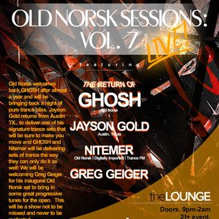 Jayson Gold - Old Norsk Sessions Live @ the Beatport Lounge inside Beta Nightclub 2-28-15