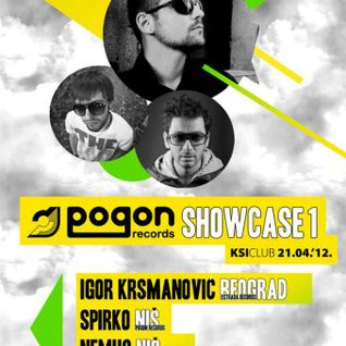Spirko @ Pogon Records Showcase, club KSI, 21-04-2012