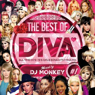 THE BEST OF DIVA #1 -ALL TIME 00's~15's GIRLS SONG HITS MEGA MIX-