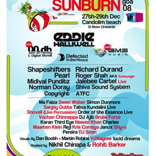 Reji @ Sunburn 2008 (December 27th - Goa)
