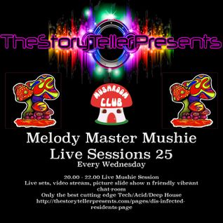 melody master mushie session 25