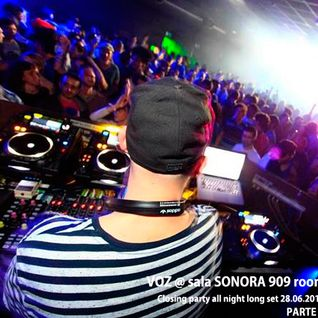 Parte 2 - VOZ All Night Long @ Closing party Sala SONORA Bilbao 28.06.2014