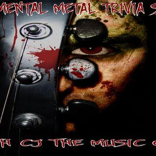 The Mental Metal Trivia Show 01/22/15 #Metal #Hard Rock #Heavy Metal #Classic Rock