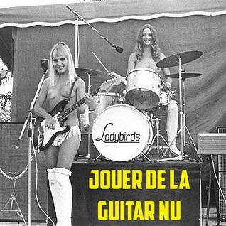 Jouer de la guitare nu (part1)