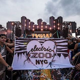 David Guetta @ Electric Zoo, United States 2014-08-29