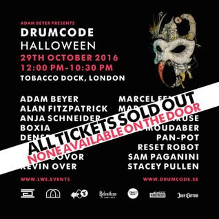 Adam Beyer @ Drumcode Halloween - Tobacco Dock London 29-10-2016