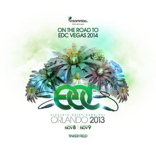 Cedric Gervais - Live @ Electric Daisy Carnival, EDC Orlando 2013 - 09.11.2013