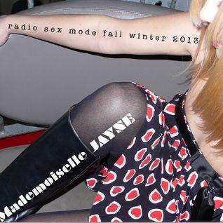 RadiO Sex mOde fall-winter 2013
