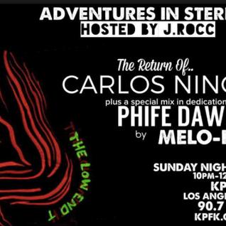 Adventures In Stereo w/ Carlos Nino & DJ Melo D (Beat Junkies)