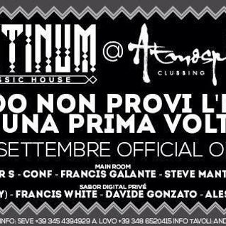 "Francis Galante live @ ""Platinum Classic House"" Caldiero (VR) Italy 28/09/2013"