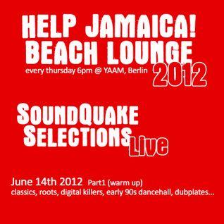Hille @ HELP Jamaica! Beach Lounge (14.06.2012)