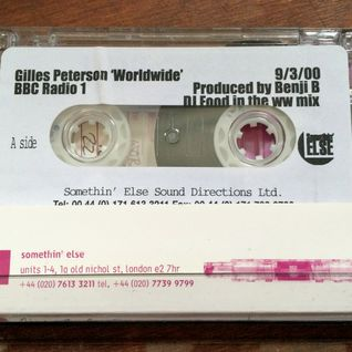 DJ Food (PC) - Gilles Peterson Worldwide mix 9/3/2000