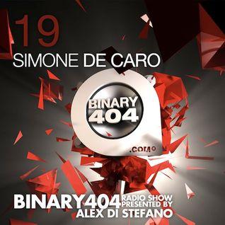 019 - Alex Di Stefano - Binary404 Radio Show /w Simone De Caro