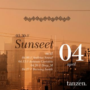 Tanzen. Guest Mix: Sunseet (2012-03-30)