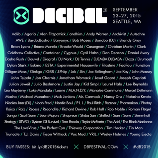 RWD.FM & Greenhaus Radio Presents: Decibel 2015 Preview | Episode 111 - 9/23/2015