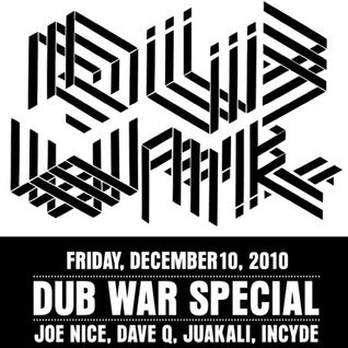 Live @ Dub War NYC (Dec 2010)