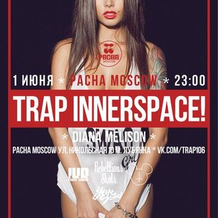 Psypad & D-way B2B mix @ Trap Innerspace, 06.01.13 @ Pacha Moscow