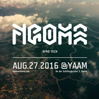 THE JOURNEY — NGOMA Special #1 with Dj Zhao (9th Aug '16)