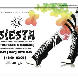 AudioWhore Presents 'Siesta' CD