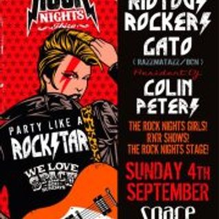 Colin Peters Live At Space Ibiza 4/9/11 for Rock Nights / We Love