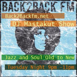 2016/06/07 DJ Mastakut Show on Back2Back fm.net