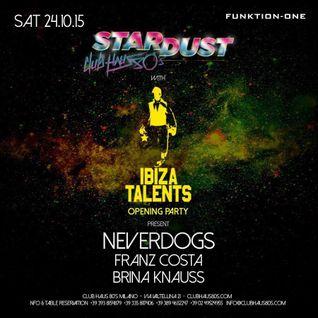 Franz Costa - Ibiza Talents 24.10.15 Live At Club Haus 80's Milan (IT)