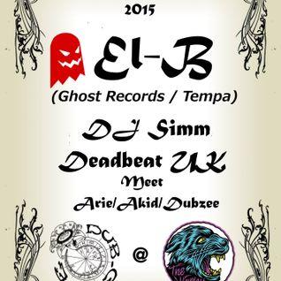 DJ Simm - Live at Dub Cafe (2nd October 2015)
