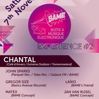 Matex @ Bame Experience #2 07.11.15