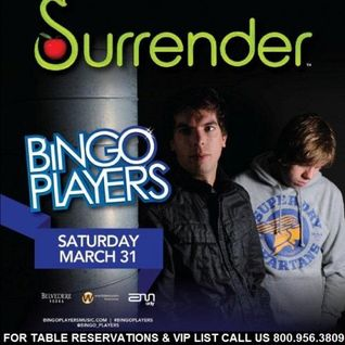 Bingo Players - Live @ Surrender NightClub (Las Vegas, USA) - 31.03.2012