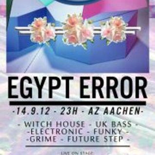 BLACK RAINBOVV DJ SET @ Egypt Error (Aachen, Germany) 2012