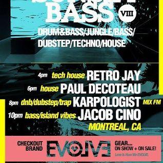 Retro Jay Sunset Bass April Live Mix