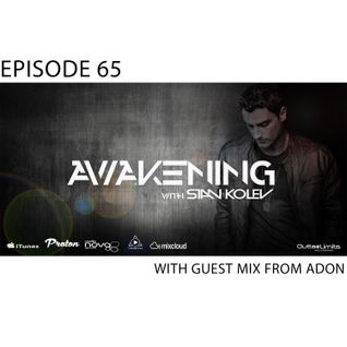 Awakening Episode 65 with guest mix from Adon