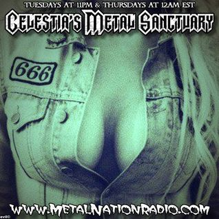 Celestia's Metal Sanctuary on Metal Nation Radio Tuesday July 7, 2015