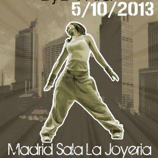 """Sesion Dia 5 De Octubre 2013 En Sala """"La Joyeria"""" Madrid"""