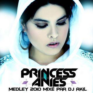 PRINCESS ANIÈS (MEDLEY) MIXÉ PAR DJ AKIL FOR HUPERKUT