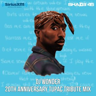 DJ Wonder - 20th Anniversary Tupac Tribute Mix