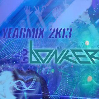 Yearmix 2k13 by bonker (90 Tracks/90 Minuten)
