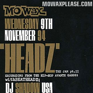 DJ Shadow & DJ Krush live @ Mo' Wax Headz Tour, Manchester - 09/11/1994