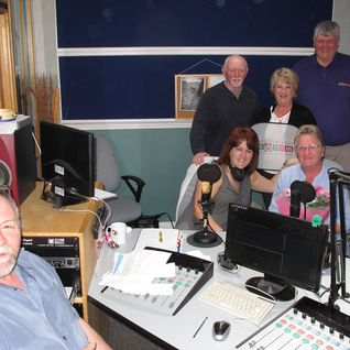Ness' visit to MonFM's Studios on 30/5/15