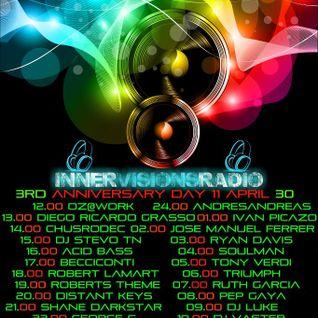 Becciconti @ Innervisions Radio UK (3º Aniversario)