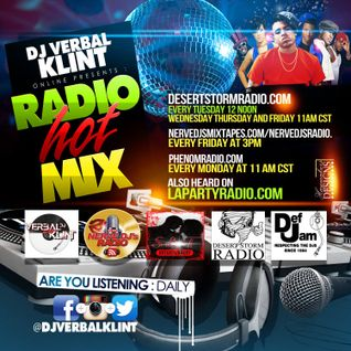 THE DJ VERBALKLINT MIX SHOW VOL 28 THE UNSIGNED HYPE EDITION