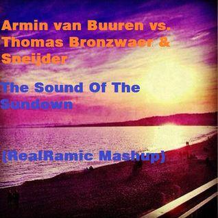 Armin van Buuren vs. Thomas Bronzwaer & Sneijder - The Sound Of The Sundown (RealRamic Mashup)