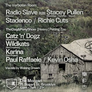 Radio Slave b2b Stacey Pullen - Live @ Verboten, The Morgan, NYC (17-03-2012)
