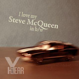 """Year 2011 - """"I love my Steve McQueen in b/w"""""""