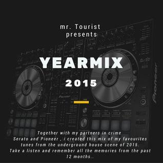 mr. Tourist  presents : The Yearmix 2015